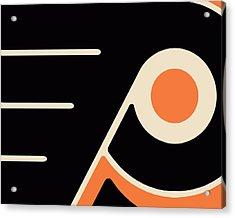 Philadelphia Flyers Size 2 Acrylic Print by Tony Rubino