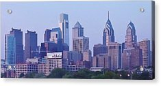 Philadelphia  Acrylic Print by John Wartman
