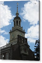 Philadelphia Pa - 121226 Acrylic Print by DC Photographer
