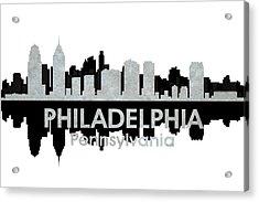 Philadelphia Pa 4 Acrylic Print by Angelina Vick