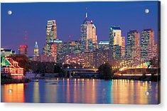 Philadelphia, Pennsylvania Acrylic Print by Panoramic Images