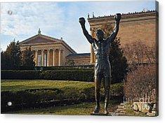 Philadelphia - Rocky  Acrylic Print