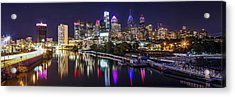 Philadelphia Skyline At Night Acrylic Print