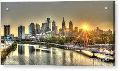 Philadelphia Sunrise Acrylic Print
