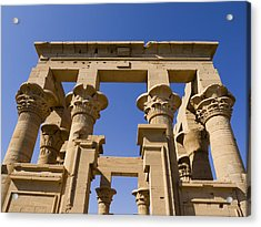 Philae Temple Egypt Acrylic Print by Brenda Kean