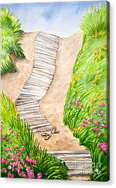 Philbin Beach Path Acrylic Print