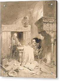 Philemon, 1838 Acrylic Print