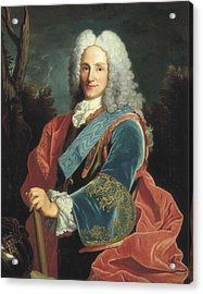 Philip V Of Spain 1683-1746. Baroque Acrylic Print