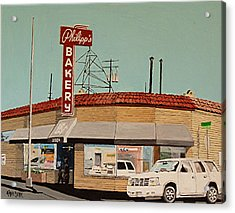 Philipp's Bakery No. 2 Acrylic Print by Paul Guyer
