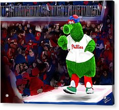 Philly Phanatic Acrylic Print