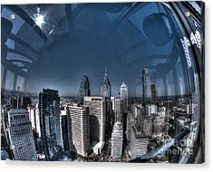 Philly In A Fish Bowl Acrylic Print