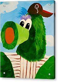 Philly Phanatic Acrylic Print by Trish Tritz