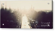 Philly Streets Acrylic Print by Kenny  Noddin