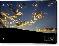 Philmont Sunset Acrylic Print by Sheldon Perry