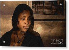 Philomina Portrait Acrylic Print