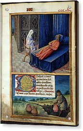 Philosophy And Boethius Acrylic Print by British Library