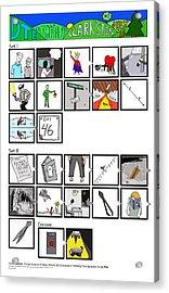 Phish 7/16/14 Dte Energy Center Acrylic Print