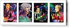 Phish Full Band Acrylic Print by Joshua Morton