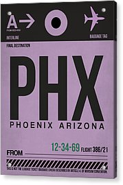 Phoenix Airport Poster 1 Acrylic Print