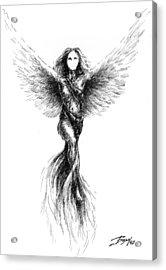 Phoenix Acrylic Print by Boyan Donev