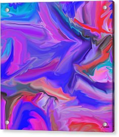 Acrylic Print featuring the digital art Phoenix Into Life by Renee Anderson