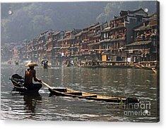Phoenix Old Town In Zhangjiajie Acrylic Print