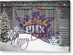 Phoenix Suns Acrylic Print by Joe Hamilton