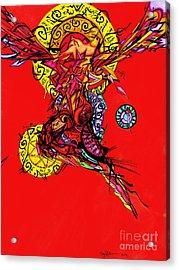 Phoenix Woman  Acrylic Print