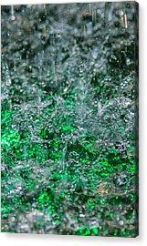 Phone Case - Liquid Flame - Green 2 - Featured 2 Acrylic Print