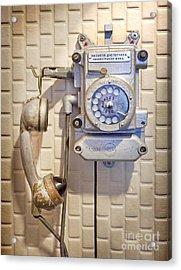 Phone Kgb Surveillance Room Acrylic Print