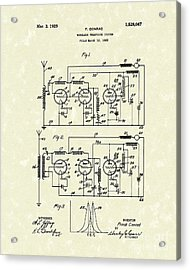 Phone System 1925 Acrylic Print