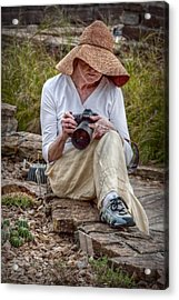 Photographer Acrylic Print