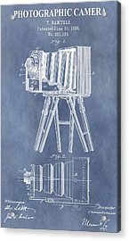 Photographic Camera Patent Acrylic Print by Dan Sproul