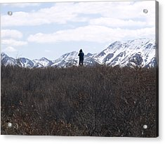 Photographing Nature   Acrylic Print