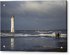 Photographing The Photographer Acrylic Print