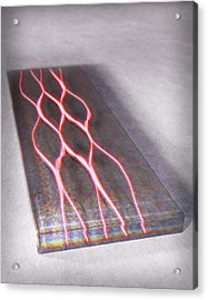 Photon Waveguide Acrylic Print by Equinox Graphics
