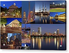 Photos Of Boston Historic Landmarks Acrylic Print