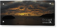 Phuket Sunset Acrylic Print by Alex Dudley