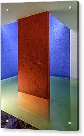 Physical Abstraction Acrylic Print by Lynn Palmer