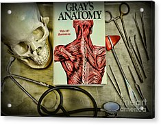 Physician - Tools Of The Trade Acrylic Print by Paul Ward
