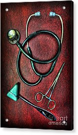 Physician's Tools  Acrylic Print