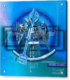 Physics Elements Discovery Acrylic Print by Franziskus Pfleghart