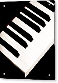 Piano Acrylic Print by Bob Orsillo