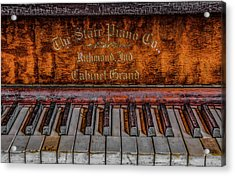 Piano Keys #1 Acrylic Print