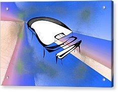 Piano Acrylic Print by Rick Thiemke
