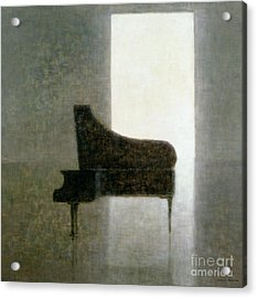 Piano Room 2005 Acrylic Print by Lincoln Seligman