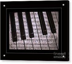 Pianoforte Classic Acrylic Print by John Stephens