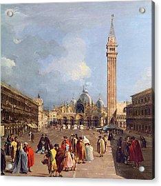 Piazza San Marco, Venice Acrylic Print