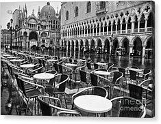 Piazza San Marco Venice Acrylic Print by Design Remix