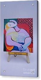 Picasso Acrylic Print by Diana Bursztein